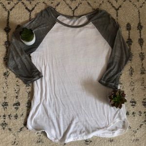 Abercrombie & Fitch Baseball Tee